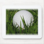 Golf Ball Design Mouse Pad
