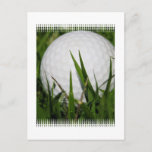 Golf Ball Design Postcard