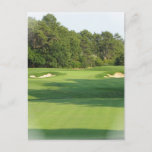 Golf Course Postcard