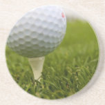 Golf Tee Design Coasters