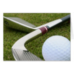 Golfing Greeting Card