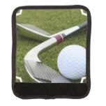 Golfing Luggage Handle Wrap