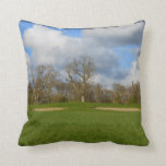 Let's Play Golf Throw Pillow