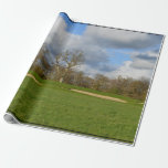 Let's Play Golf Wrapping Paper